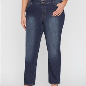 Catherine's Brand Right Fit Curvy Jeans 34WP